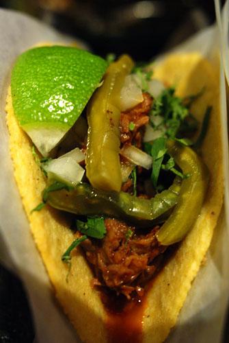 Cabrito a la Barbacoa Taco
