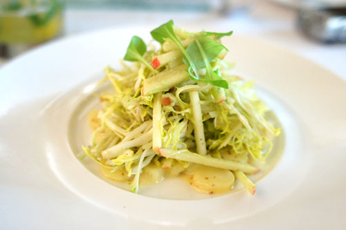 Frisée and Smoked Trout Salad