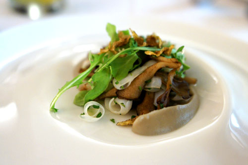 Warm Cuttlefish Salad