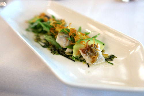 Charred Japanese Mackerel