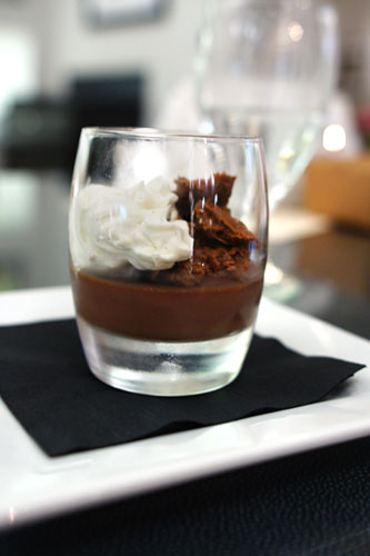 Gianduja Parfait