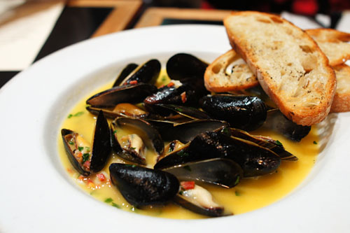 Prince Edward Island Mussels