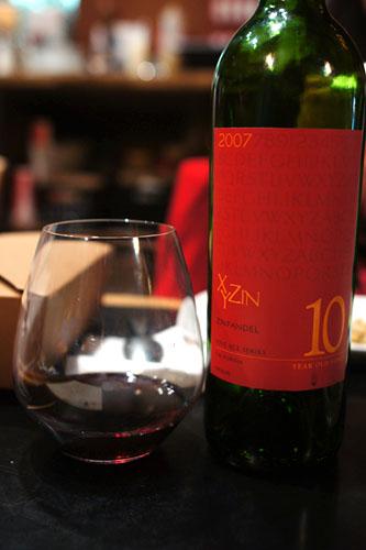 Xyzin Zinfandel 10 y.o. Vines