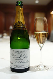 Pierre Peters, Champagne Blanc de Blancs Grand Cru, Le Mesnil, France