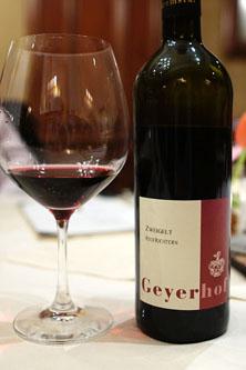 2007 Geyerhof, Ried Richtern, Zweigelt, Kremstal, Austria