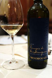 2008 Mormoraia, Vernaccia di San Gimignano, Tuscany, Italy