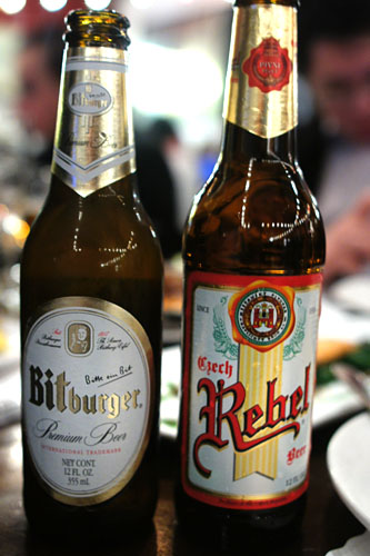 Bitburger Select, Czech Rebel Lager