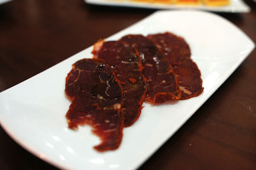 Turkish Style Pastirma