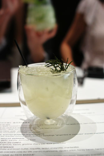 YUZU & CHARRED ROSEMARY GIN TONIC