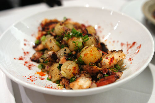 ROCK SALT TUMBLED OCTOPUS SALAD