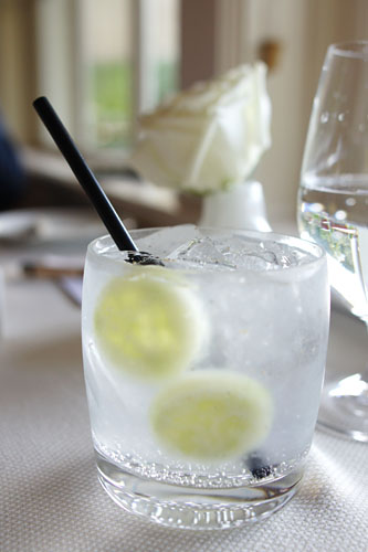 Gin & Tonic with English Cucumber and Pepper