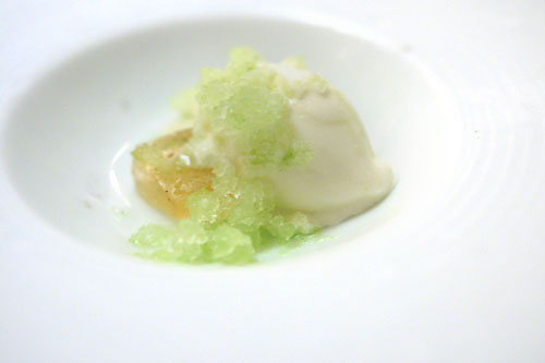 Green Apple and Ginger Sherbet