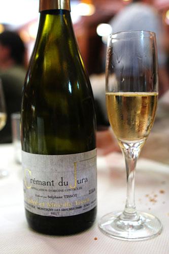 NV Crémant du Jura, Stéphane Tissot