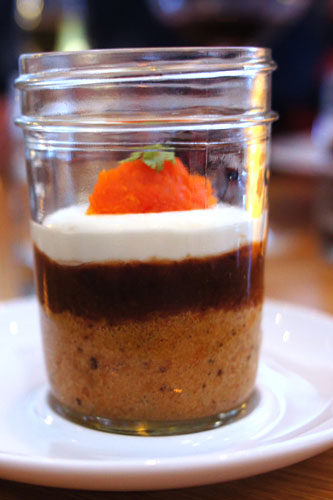 CARROT CAKE (IN A JAR)