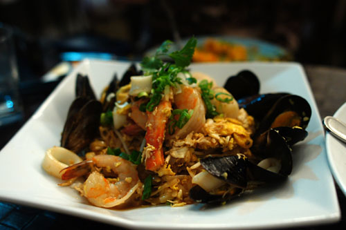 Seafood Pad Thai