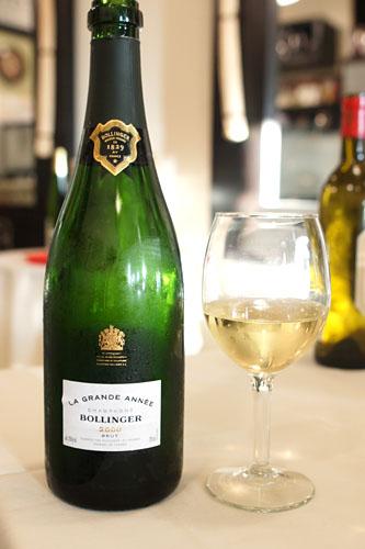2000 Bollinger Champagne La Grande Année