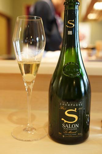 1995 Salon Champagne Brut Blanc de Blancs Le Mesnil