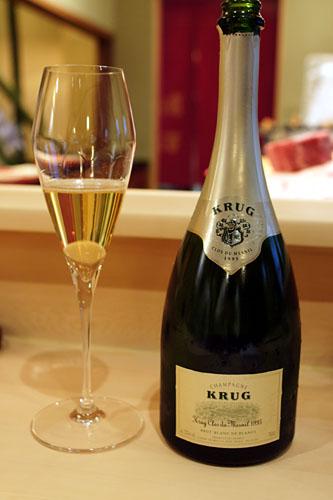 1995 Krug Champagne Clos du Mesnil