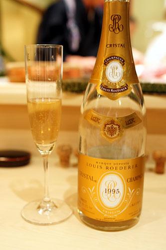 1995 Louis Roederer Champagne Cristal Brut