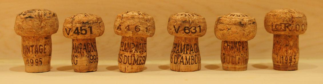 1995 Champagne Horizontal Corks
