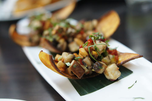 Woodland Mushrooms Ceviche