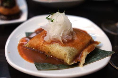 Chicken Tamale