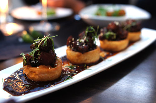 Gleason Ranch Pork Belly Sopes