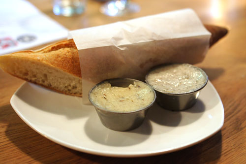 Tartine Plate 'Warm Baguette' Honey-Lavender Butter & Smoked Lard