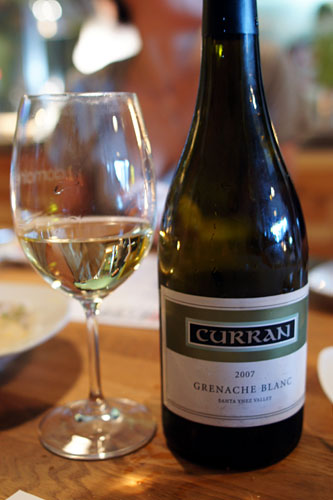 2007 Curran Grenache Blanc