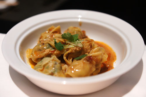Chili 'Dan Dan' Dumplings