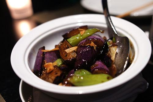 Hunan Spicy Eggplant