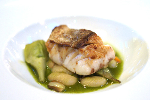Sautéed Channel Island White Sea Bass