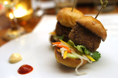 'Banh Mi' Pig's Feet Sliders