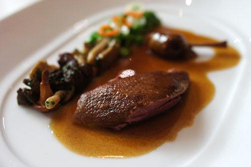 Californian Squab Cooked 'en Cocotte'