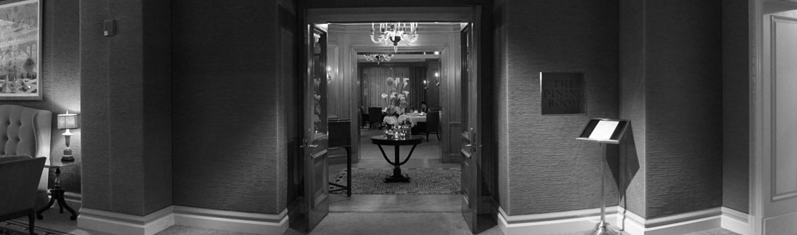 The Dining Room Entrance