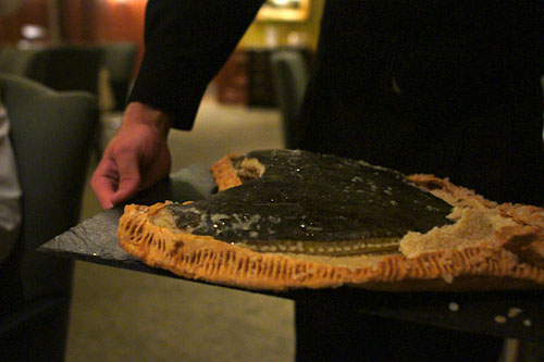 Salt Baked Turbot Tableside Presentation