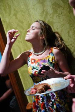 Krista (hearts) Saul's Meat