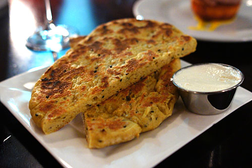 Vadouvan Naan Bread, Salted Coconut Butter