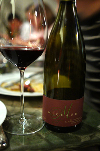 2004 Michaud Syrah The Pinnacles
