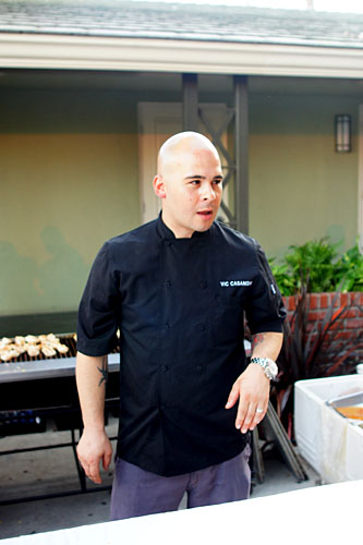 Chef Victor Casanova
