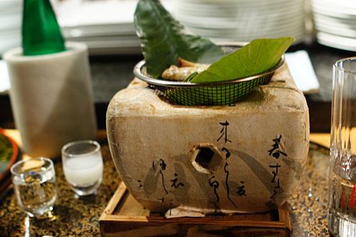 Grilled Japanese Wagyu Ribeye and Eringi Mushroom