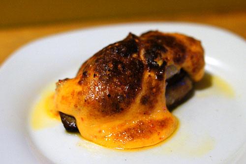 Hot Foie Gras, Dynamite, Tuna, Lychee, Crackers