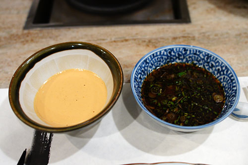 Shabu Dipping Sauces