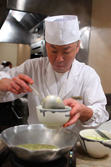Masa-san with Udon