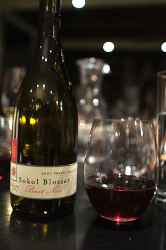 2007 Sokol Blosser Pinot Noir