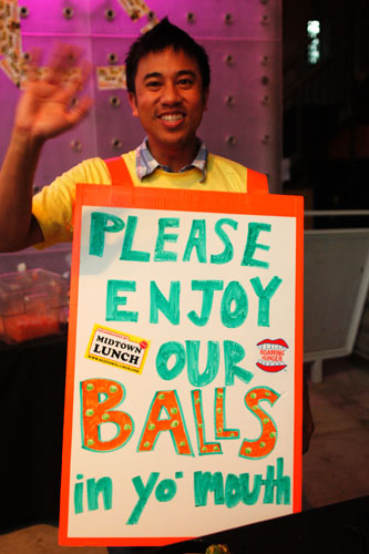 Please Enjoy Our Balls
