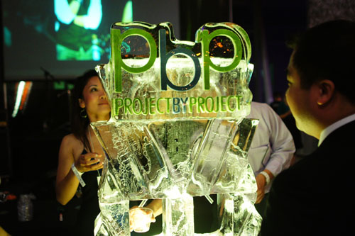 PbP Ice Sculpture