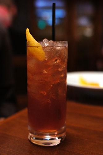 #5 - Plymouth Gin, Lemon, Cherry Heering, Kombucha, Sparkling