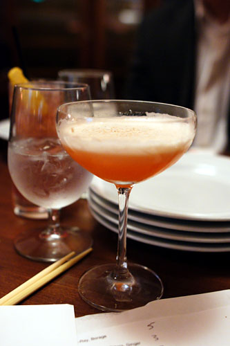 #2 - Plymouth Gin, Bonal, Strawberry, Lemon, Long Peppercorn