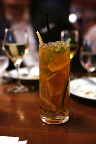 #1 - Pimm's No. 1, Lemon, Celery, Cucumber, Dr. Brown's Cel-Ray
